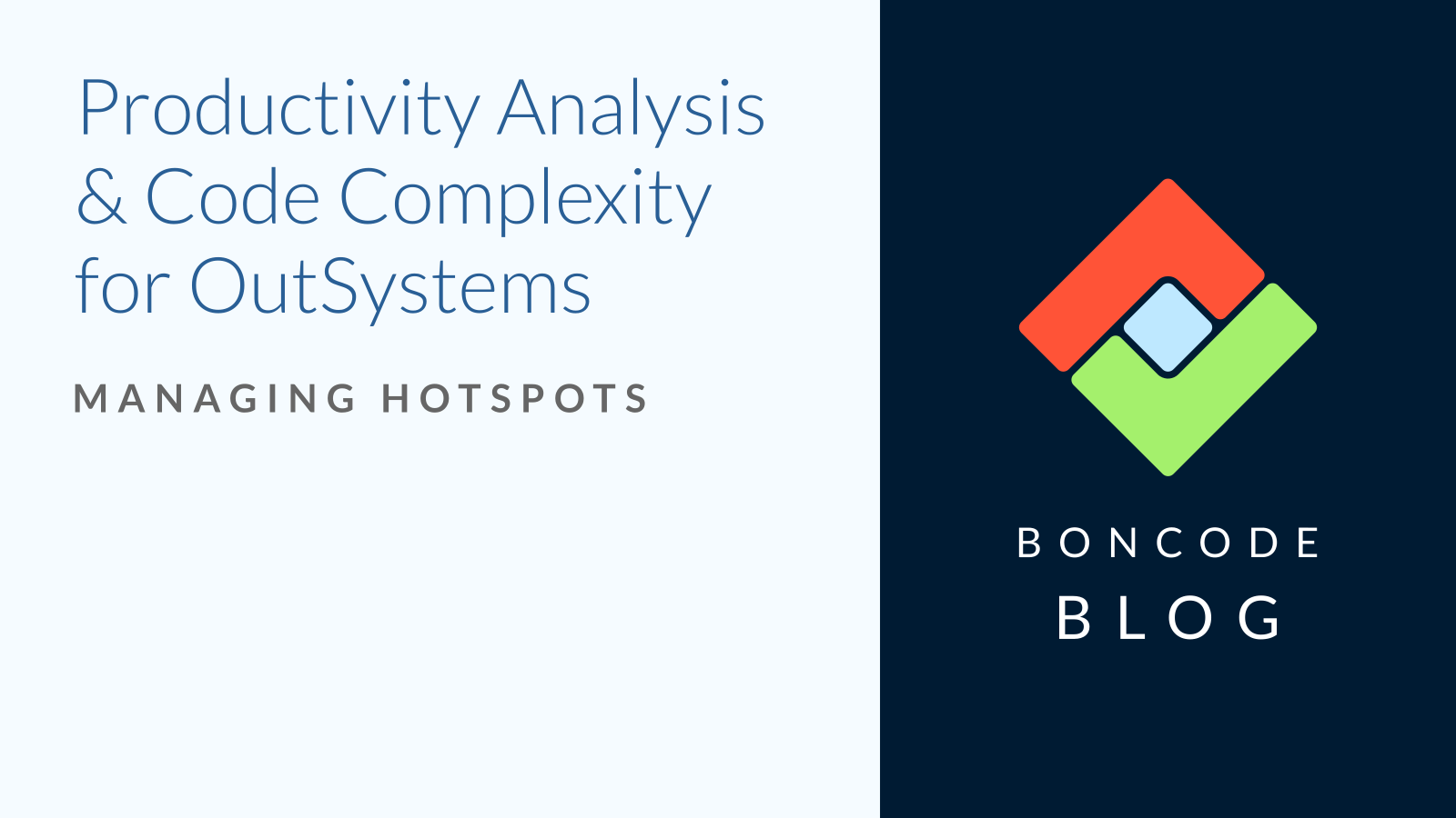 productivity analysis code complexity blog